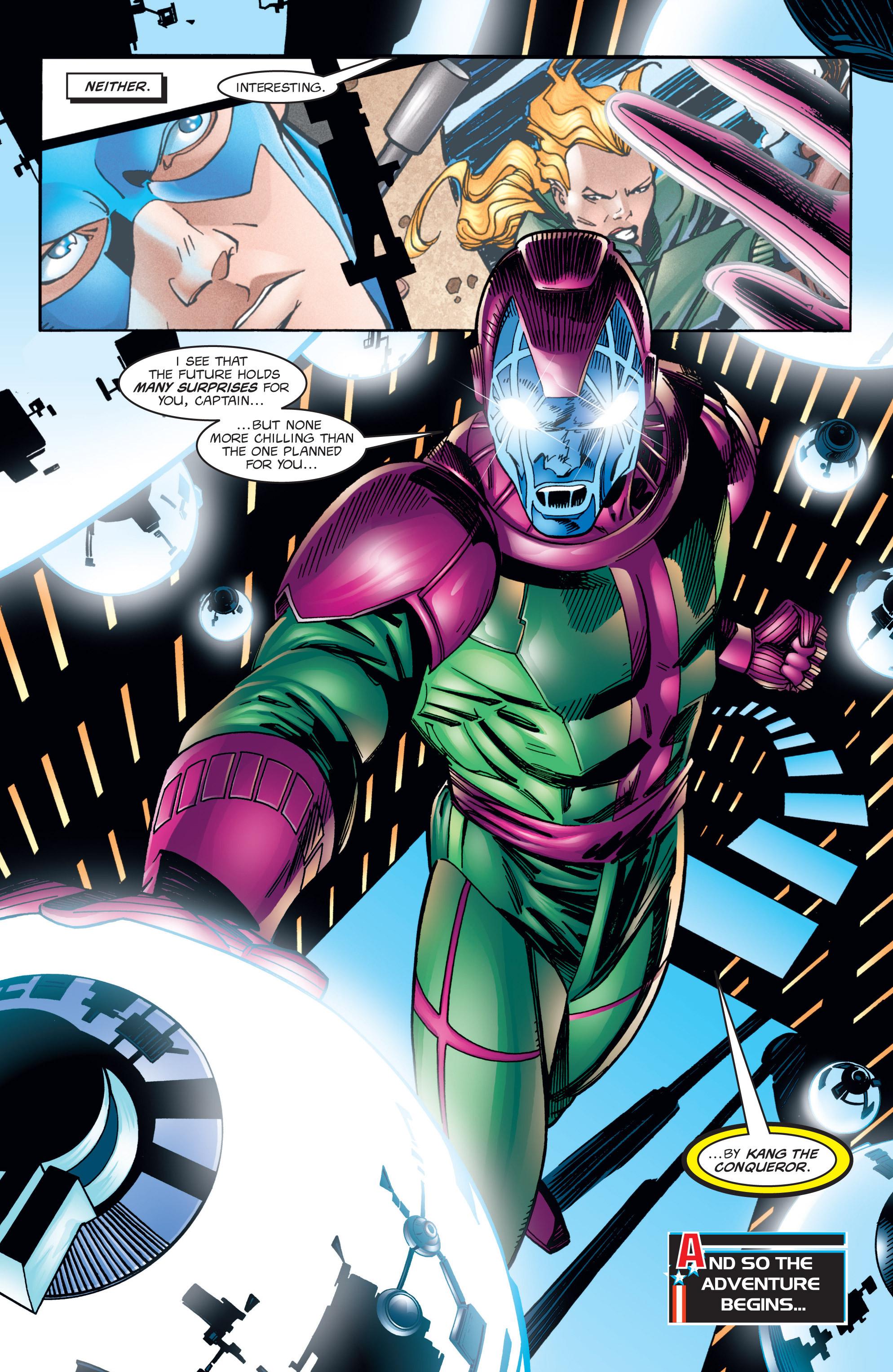 Captain America (1998) Issue #1 #4 - English 35