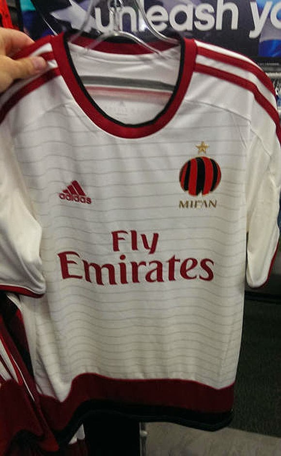 Jersey Away Milan 2014-2015