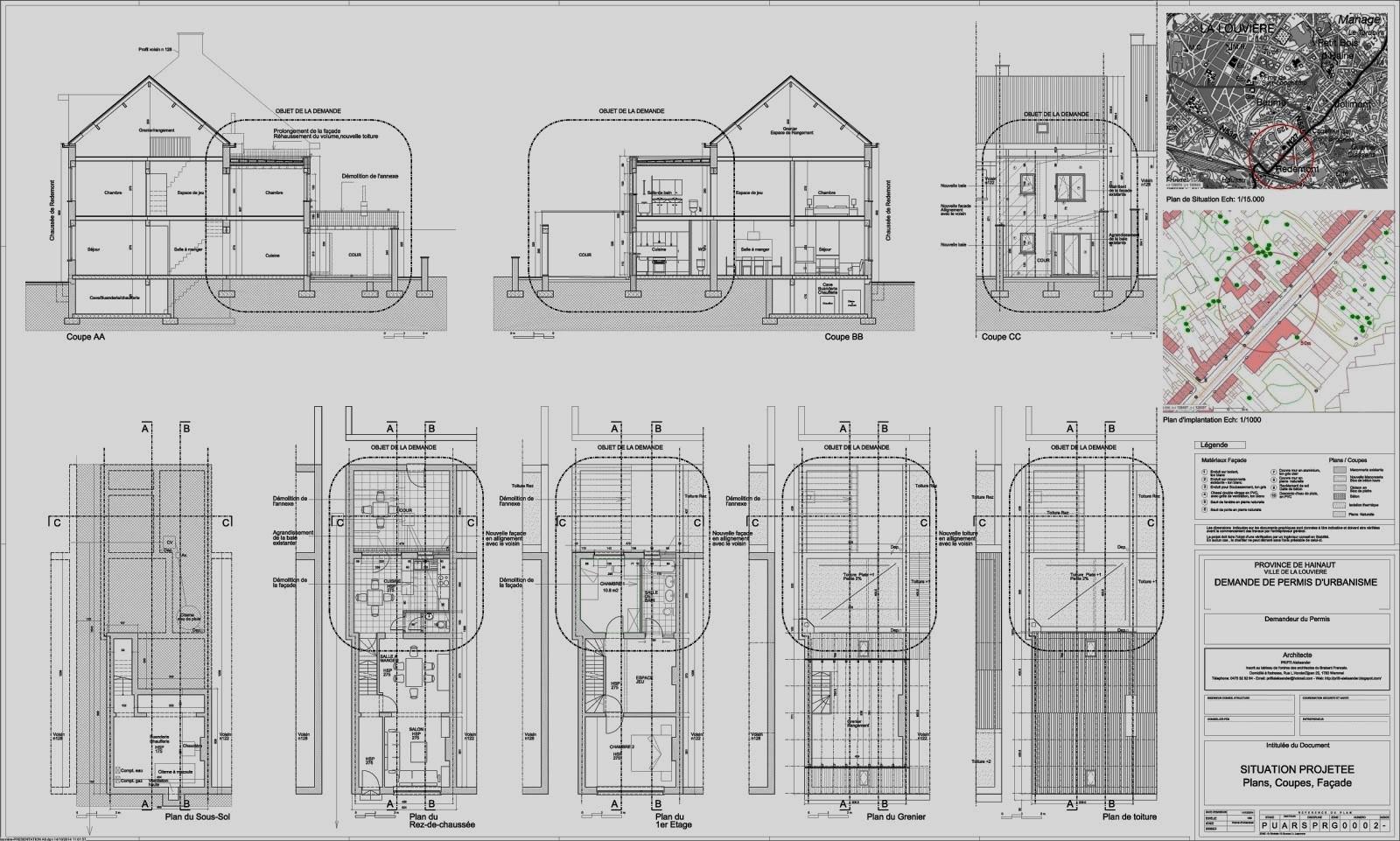 prifti aleksander architecte. Black Bedroom Furniture Sets. Home Design Ideas