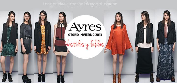 Vestidos invierno 2013 Ayres