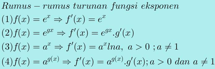 http://soulmath4u.blogspot.com/2014/02/turunan-fungsi-eksponensial.html
