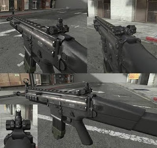 SCAR-L MW3