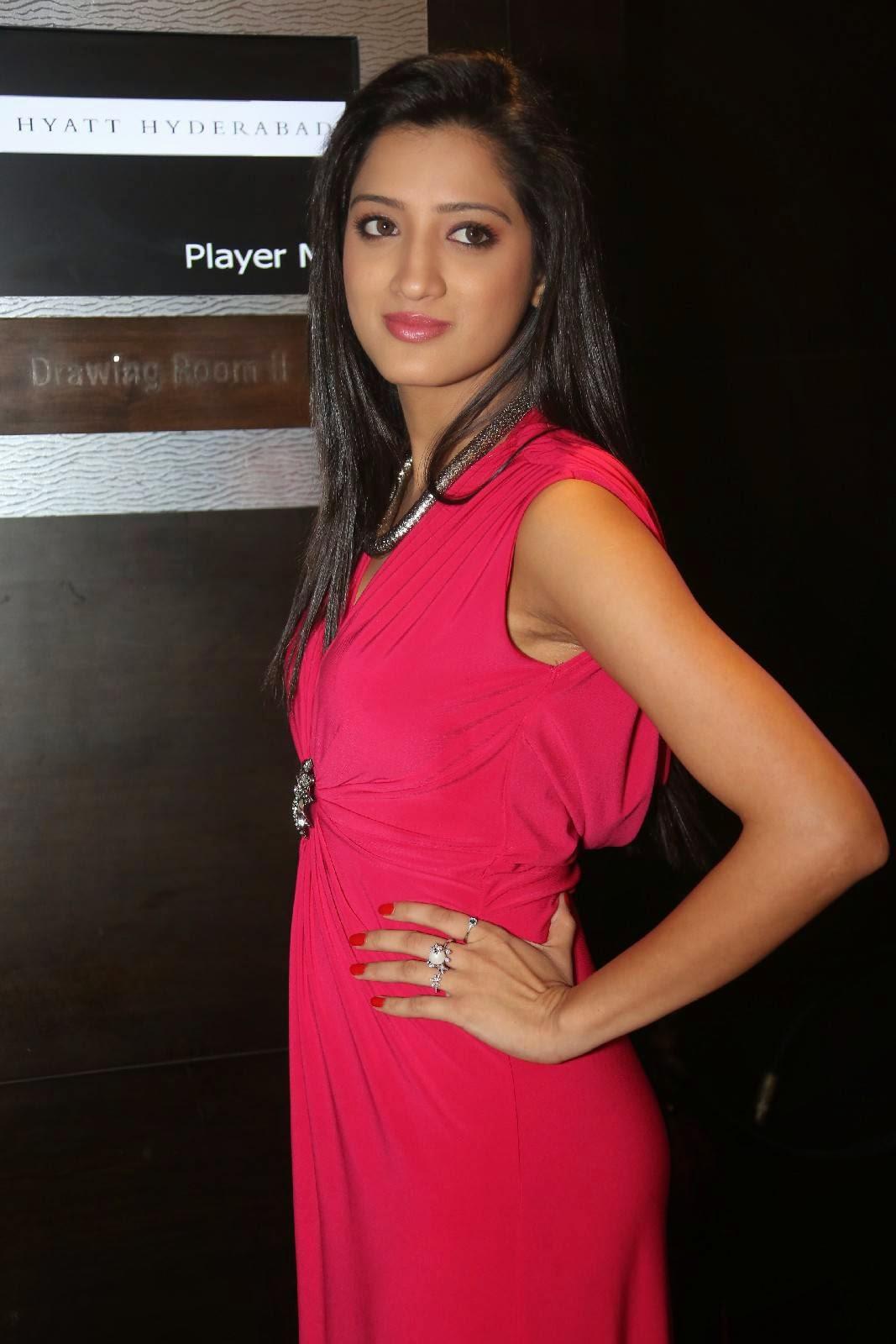 Actress Richa Panai At Player Movie Teaser Launch Photos