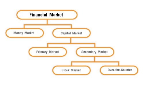 financial markets in india types and working bank