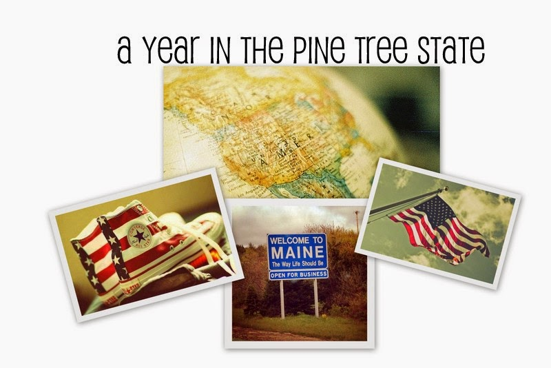 A Year in the Pine Tree State
