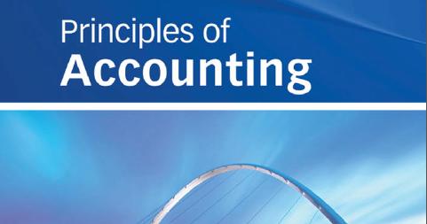 Accounting Principles Solution