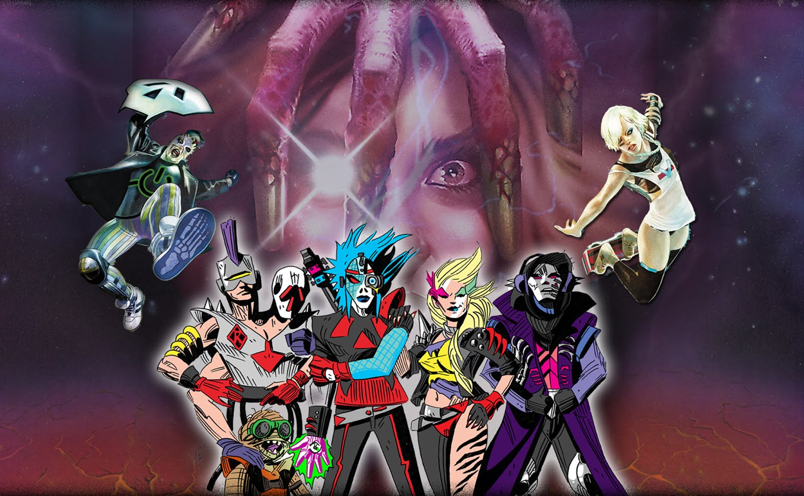 Dedderz Masterz of Dreadwave Banner 2016