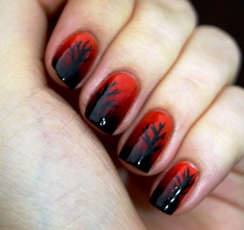 Watch Original DIY Heart Nail Art For A Valentine's Day video