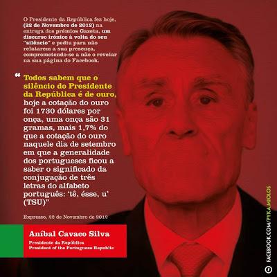 Cavaco Silva no inferno