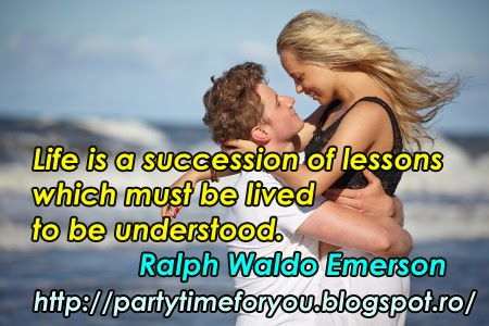 Life is a succession of lessons which must be lived to be understood.