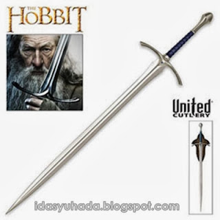 Jom Tengok The Hobbit Dan Lord Of The Ring Swords