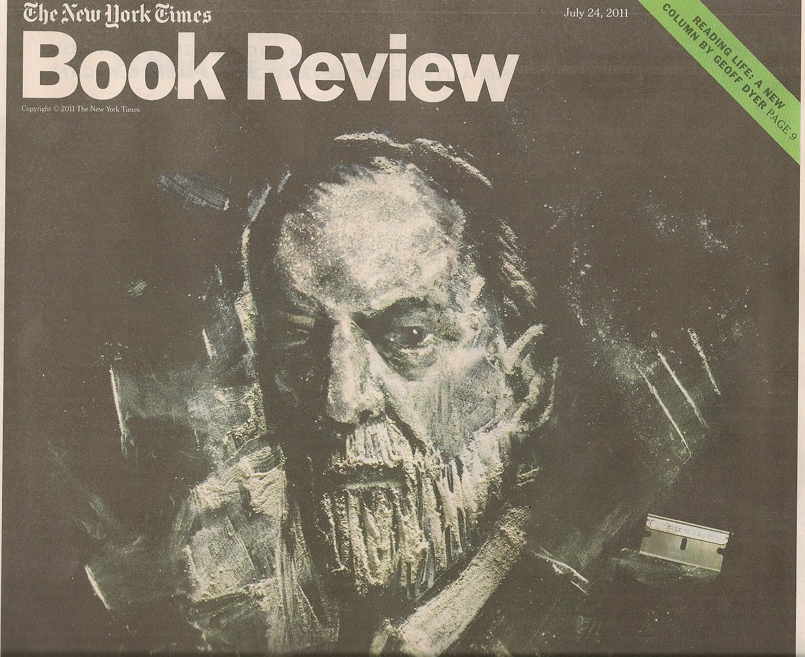 Attwood Collected Works: Cover of NYT Book Review today drew my ...
