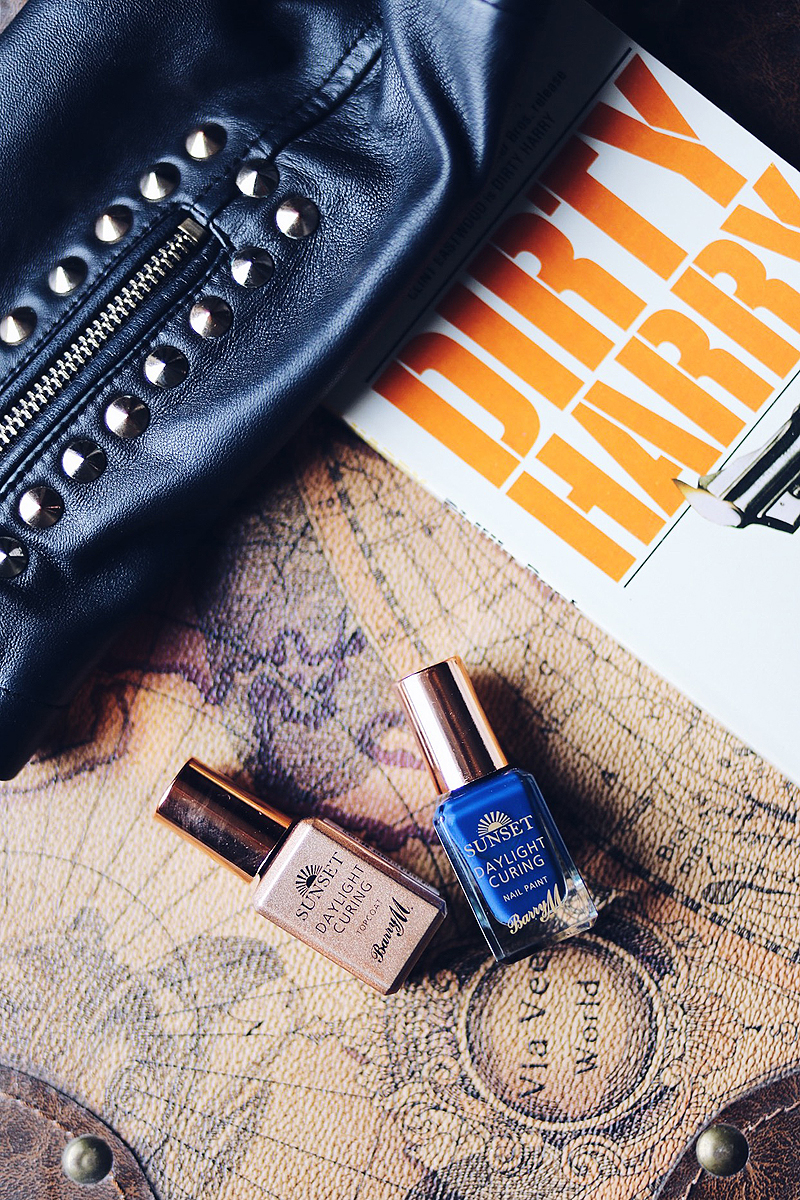 Barry M Sunset Nail Paint & Topcoat