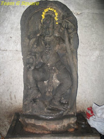 Kalingamardana idol in the Chennakeshava Temple in Bangalore