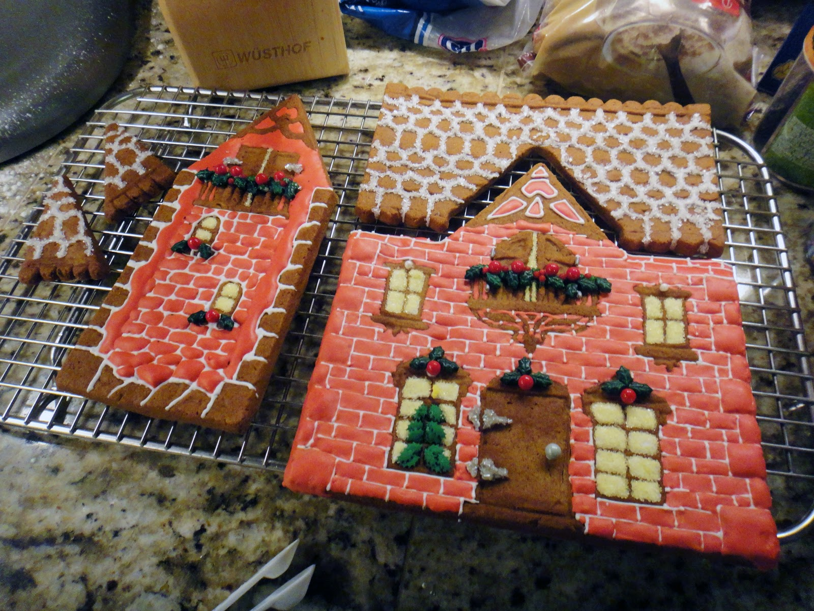 Gingerbread House Roof Ideas