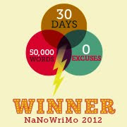 2012 NaNoWriMo WINNER 2012