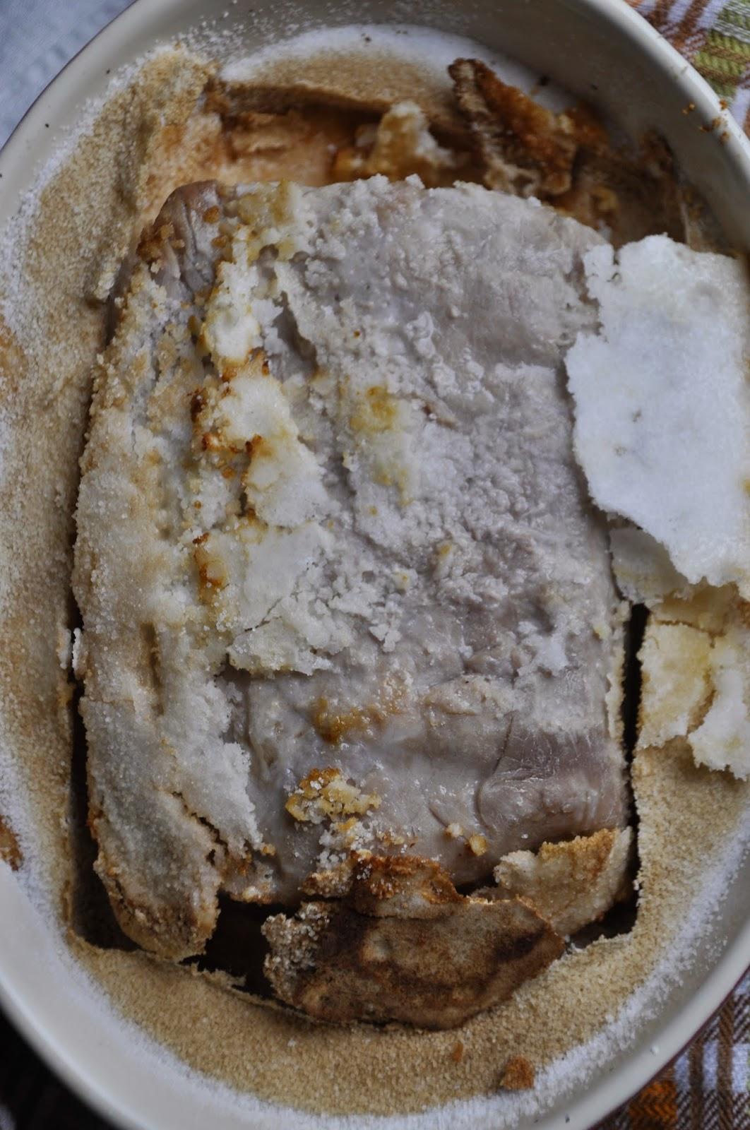 Szybko Tanio Smacznie - Schab pieczony w soli