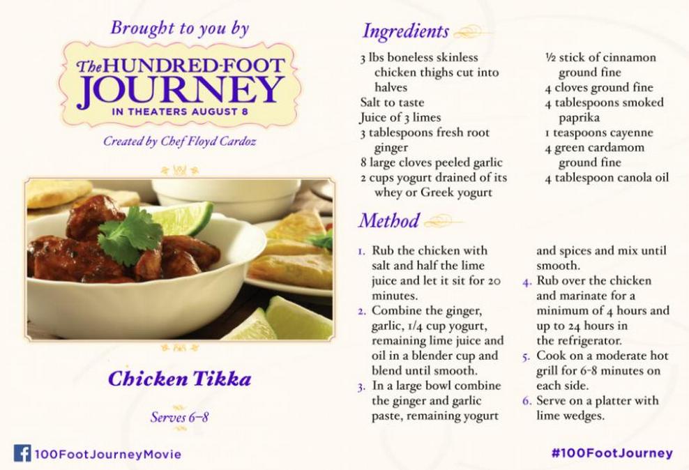 #FoodieFriday: Chicken Tikka