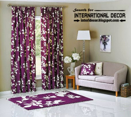 largest catalog of purple curtains and drapes, purple floral curtain and window treatments
