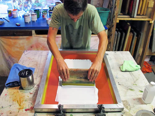 Home Decor Ceramic Tile Coaster Set Printing Process