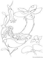 Gambar Mewarnai Barbie Fairytopia