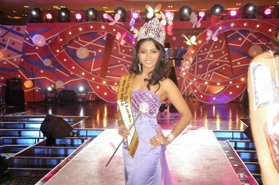 Miss Sunday Observer 2012 Vinu Udani Siriwardena