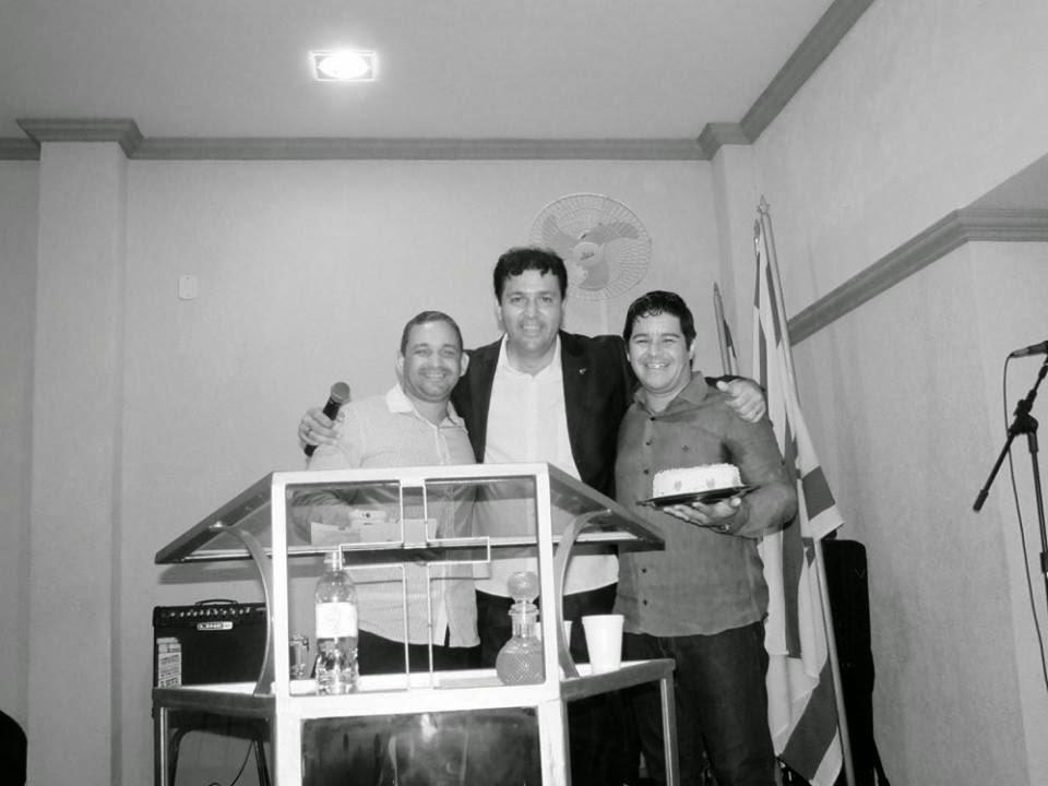 Aniversário do Pastor Evanildo: