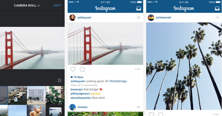 Instagram 大更新,照片影片不再只能正方形!