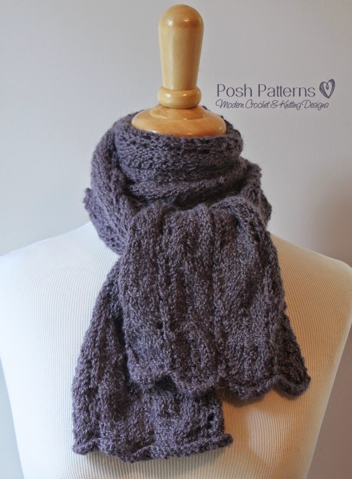 Lace Scarf Knitting Scarf