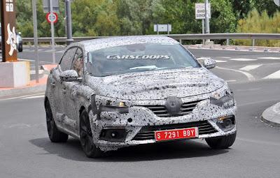 Νέο Renault Megane 2016 [Spy Video]