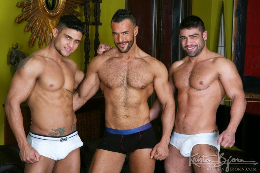 Wagner, Diego e Denis Vega