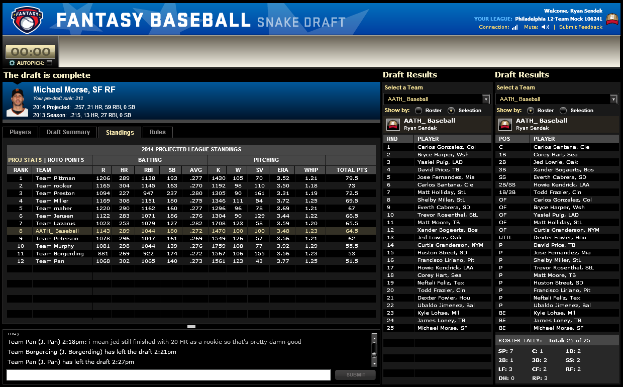 how to leave a league in espn fantasy baseball