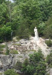 Statuie a Sfantului Lavrentie