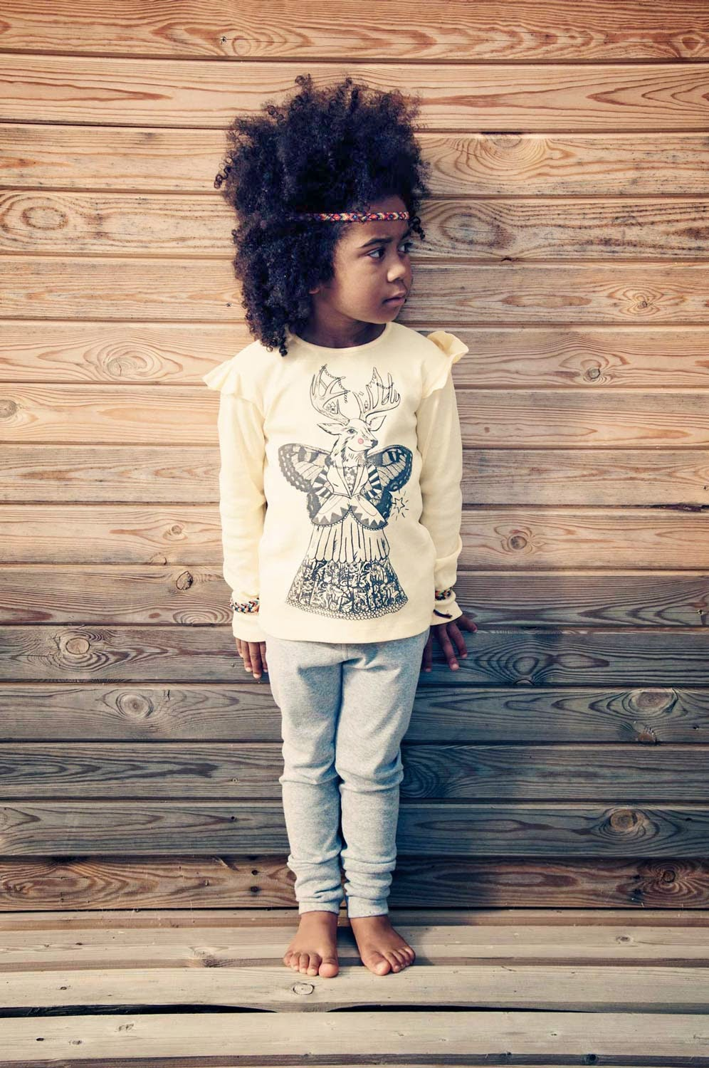 Unique prints by Hebe for spring 2014 kidswear collection