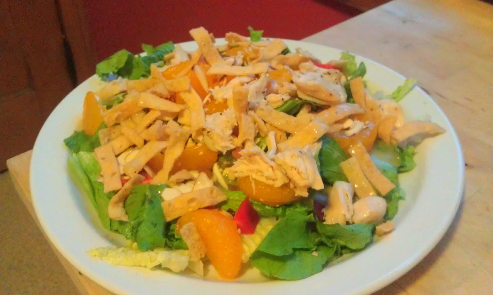 how to make mandarin chicken salad dressing