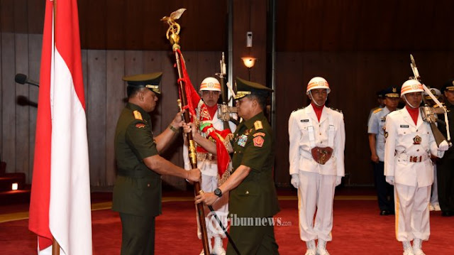 Panglima TNI Pimpin Sertijab Komandan Sesko TNI