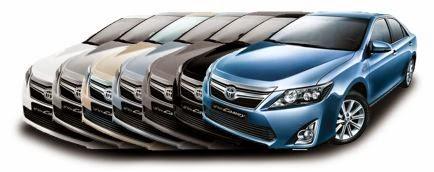 Varian Warna Toyota Camry Mobil Hybrid Terbaik Indonesia