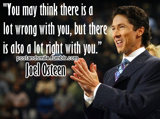 ... joel osteen i ve been listening to joel osteen s inspirational talks