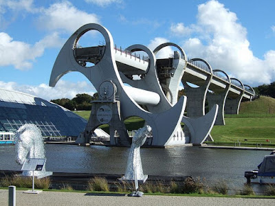 The Falkirk Wheel Seen On www.coolpicturegallery.us