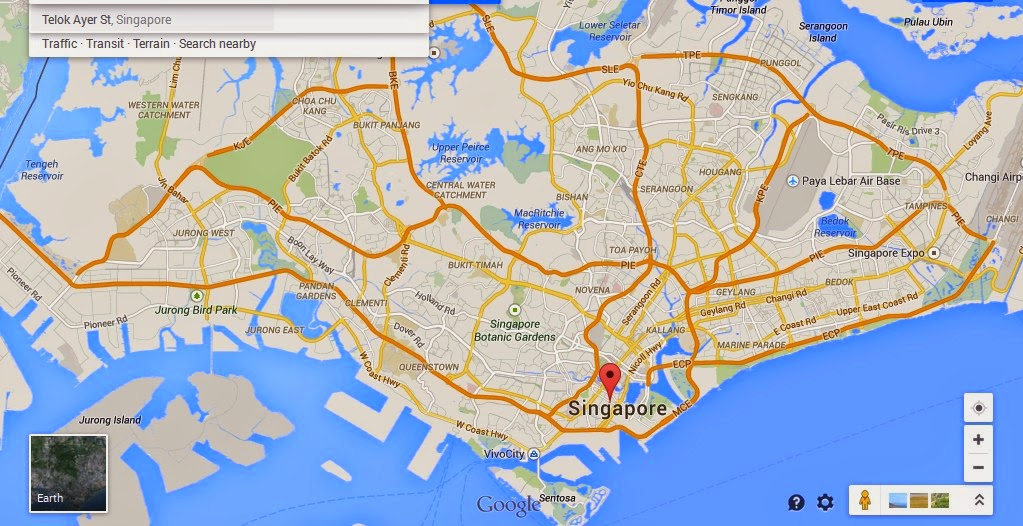 Telok Ayer Street Singapore Map Tourist Attractions in Singapore – Tourist Map Of Singapore City