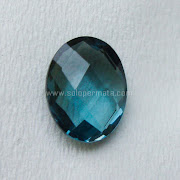 Batu Permata London Blue Topaz - SP958