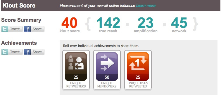 Key Elements To Generate Your Klout Score