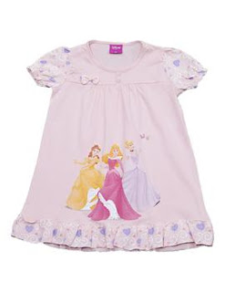 vestidos de princesas para crianças