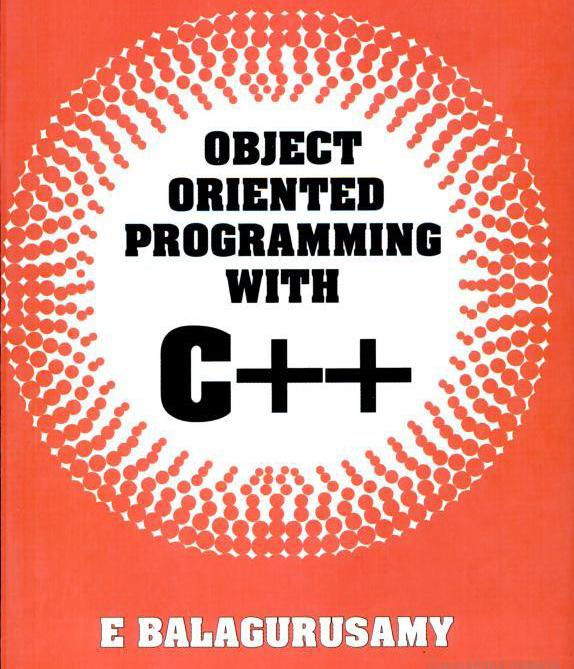 Oops C++ Balaguruswamy Ebook