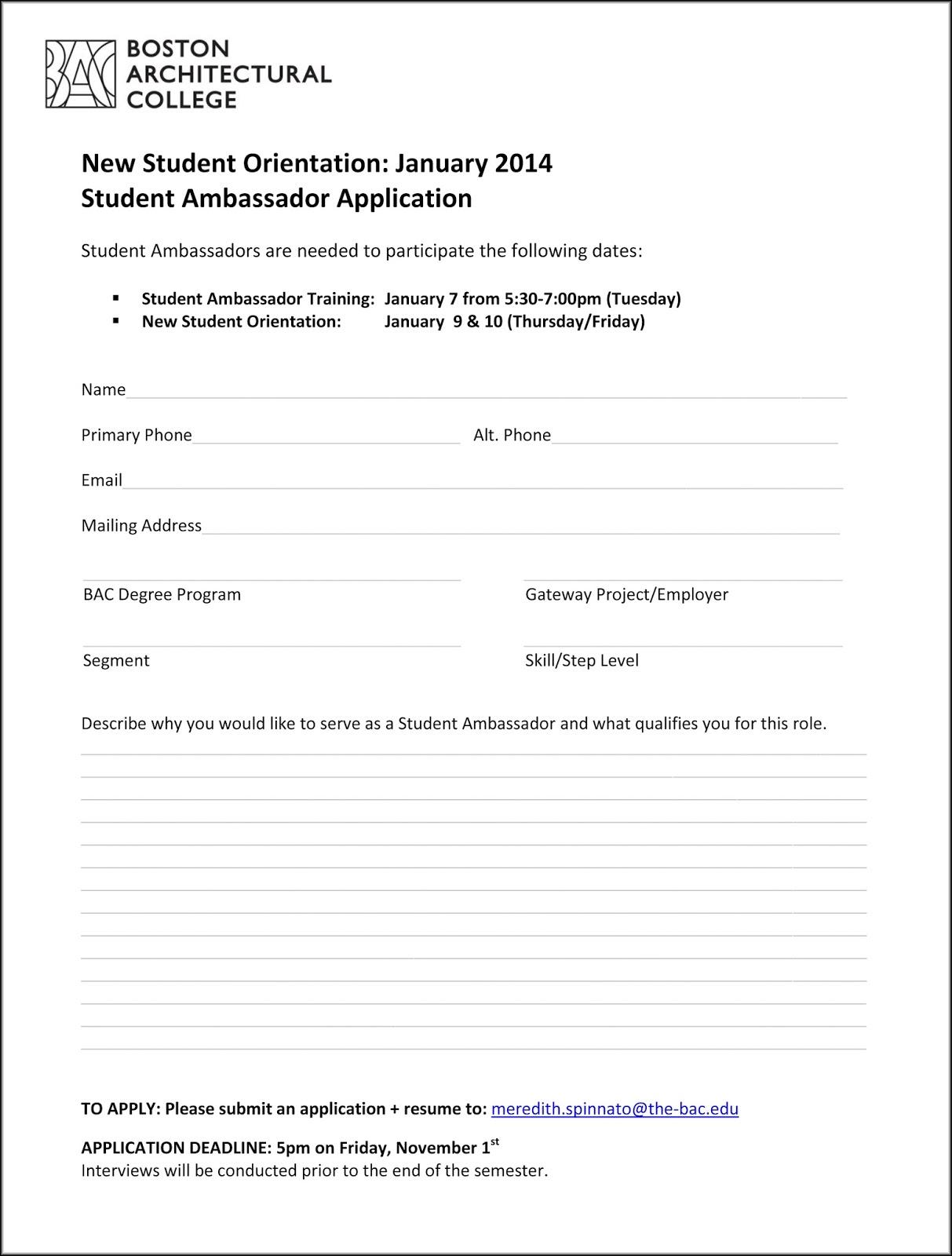 Director of orientation resume