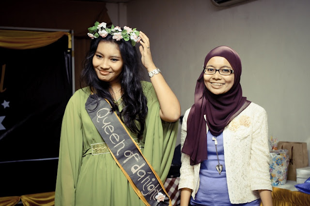 beautiful malay, hot malay, aqilah, winner of the night, beauty face, sahabat najwa latif lirik, minggu suaikenal, tema party, prom party, halloween, costume party, friendship, final dinner, traditional cuisine