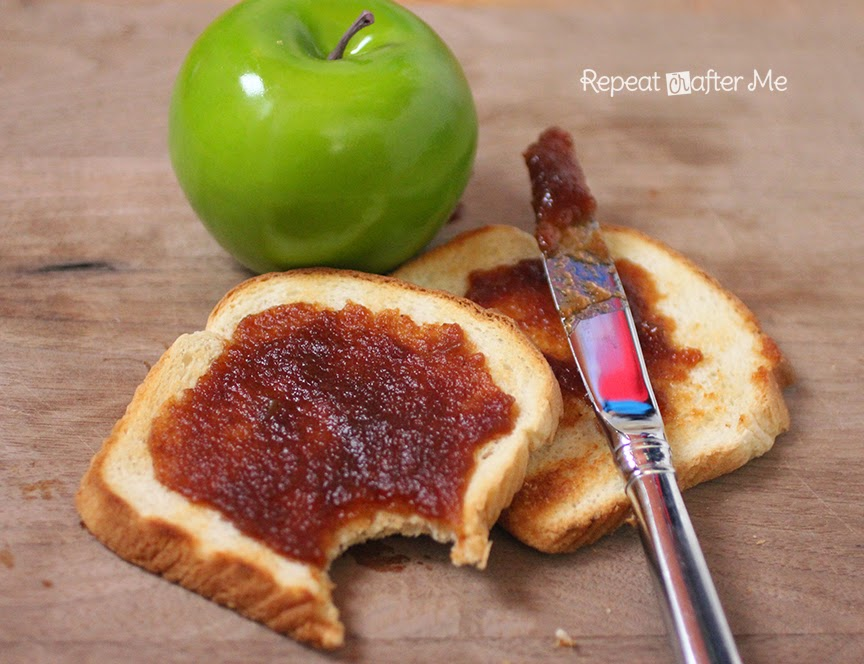 Repeat Crafter Me: Overnight Crock Pot Apple Butter