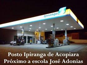 Posto Ipiranga de Acopiara é assaltado por indivíduo armado
