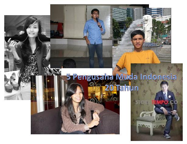 ... Pengusaha Muda Sukses Indonesia Dibawah 20 Tahun ~ Biografi Pengusaha