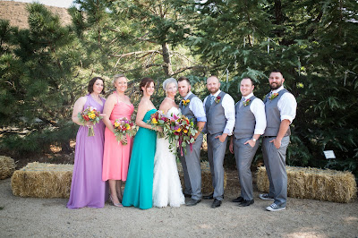 Outdoor Reno Wedding at the River School Farm l Jeramie Lu Photography l Take the Cake Event Planning